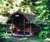 Camping Cabin at Olympia Campground